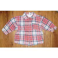 Рубашка для мальчика рост 86