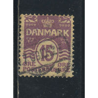 Дания 1905 Номинал с треугольниками Стандарт #46A