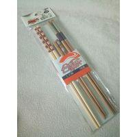Палочки для суши китайские набор 3 пары бамбуковые сувенирные расписные
