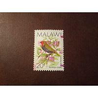 Малави 1988 г.Зелёный твин-спот или зяблик.