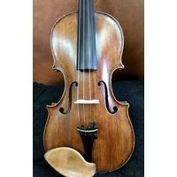 Старинная мастеровая скрипка начала 19 века