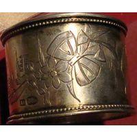 Салфетница серебро модерн 19 век 27гр 84пр