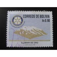 Боливия 1992 Ротари-клуб, гора