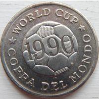 Футбольный жетон (Чемпионат мира 1990)