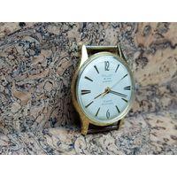 Часы Poljot de luxe,позолота au20, автоподзавод.Редкие,состояние.Старт с рубля.