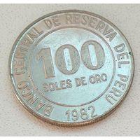 Перу 100 солей, 1982 1-14-1