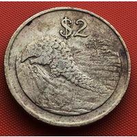 115-21 Зимбабве, 2 доллара 1997 г.