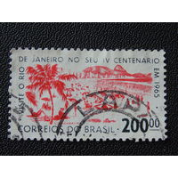 Бразилия 1965 г. Флора.