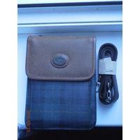 Барсетка-портмоне со множеством карманов и отделений