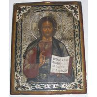 Икона Вседержитель XIX И28