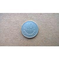 Польша 10 грошей, 1976г.