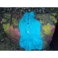 Платье детское открытая спинка с шортиками БЕСПЛАТНО ВТОРОЙ товар (одежда-обувь)  на выбор!