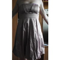 Вечернее платье бледно-розового цвета от NAFNAF, цена снижена