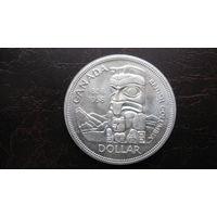 Канада доллар 1958 г ( серебро )