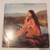 BUFFY SAINTE-MARIE - 1973 - QUIET PLACES, (UK), LP