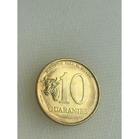 10 гуарани 1996 г., Парагвай