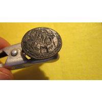 Печать иудаика 18 век. Ручка - труба