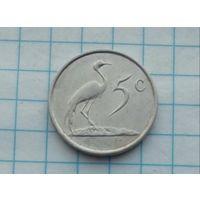 ЮАР 5 центов 1988г.