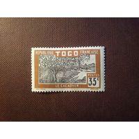 Французский Того 1924 г.Плантация какао.