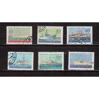 СССР-1959, (Заг.2210-2215)  гаш., Флот