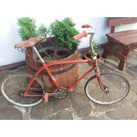 Старенький детский велосипед ВЕТЕРОК.