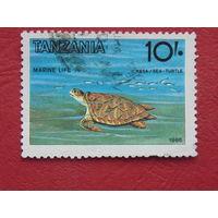 Танзания 1986г. Фауна.
