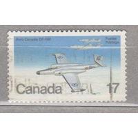 Авиация Самолеты Канада 1980 год лот 8