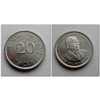 20 центов Маврикий 2003 год - из коллекции