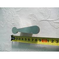 Фурнитура-мебельные ручки под серебро