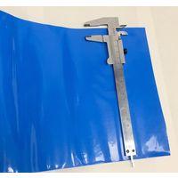 Термоусадка d=140 мм ((цена за 1 метр)) синяя термотрубка 140мм, термоусадочная трубка, кембрик