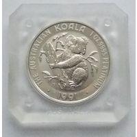Австралия 1991 платина (1 oz) (в капсуле) (UNC). Тираж: 52 106