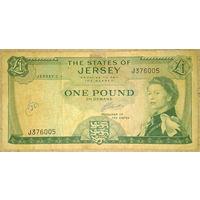 Джерси 1 фунт 1963г