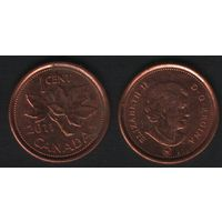 Канада _km490 1 цент 2011 год km490a магнит (f31)**