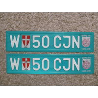 Автомобильный номер Австрия W50CJN