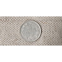 Россия  Финляндия 25 пенни 1916  / (F)