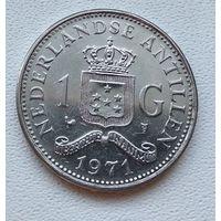 Нидерландские Антильские острова 1 гульден, 1971 6-12-10