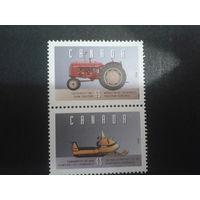 Канада 1995 транспорт, сцепка