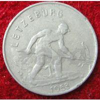 7682:  1 франк 1953 Люксембург