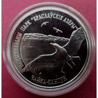 Монета Браславские озера Чайка клыгун