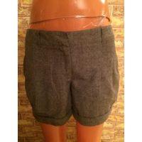 Шорты зима-весна от Promod на 44 размер. Шерсть, шорты на подкладке, стильные и красивые. Замеры: длина 33 см, ПОталии 39 см, ПОбедер 51 см в нерастянутом состоянии.