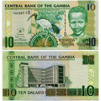 Гамбия. 10 даласи (образца 2006 года, выпуск 2013, P26c, UNC)
