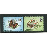 Лесото. Бабочки