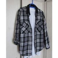 К 9 мая качественная одежда всего за 9 р. Рубашка в клетку Brodway Р-р 48 Мягкий хлопок