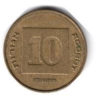 Израиль. 10 агорот. 1986 г.