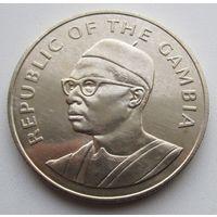 Гамбия, 10 даласи, 1975, серебро