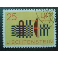 Лихтенштейн 1965 100 лет ITU