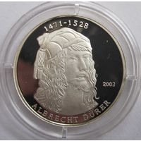 Того, 500 франков, 2003, серебро, пруф