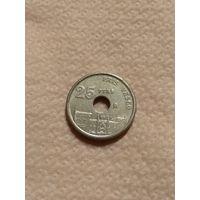 Испания Монета 25 песет 1993 год
