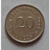 20 центов 1990 г. Маврикий