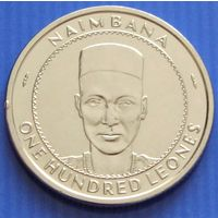 Сьерра - Леоне. 100 леоне 2017 год   KM#46